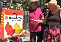 Bikin Heboh Turis, Cabai di Barcelona Berbentuk Penis