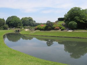Taman Cantik Berusia 300 Tahun di Jepang