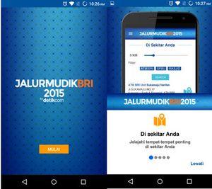 Pulang Kampung dengan App Jalur Mudik BRI