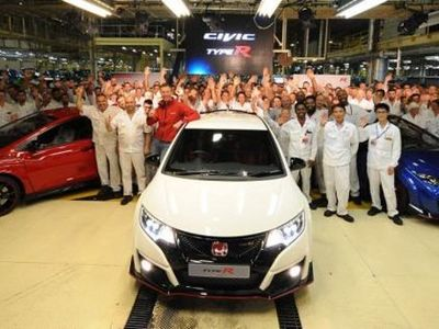 Honda Civic Terganas Mulai Diproduksi
