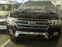 Tampang Toyota Land Cruiser Facelift Bocor