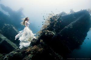 Foto Underwater di Bali Ini Keren Sekali