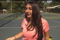 Remaja Ini Dirikan Kamp Tenis untuk Anak-anak dengan Gangguan Penglihatan