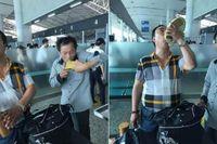 Tak Mau Rugi, 2 Turis China Tenggak Habis Alkohol Selundupan di Bandara