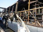 Bus TransJakarta Terbakar di Halte Salemba UI