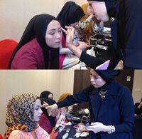 Foto: Ketika 8 Finalis Sunsilk Hijab Hunt Belajar Make-up