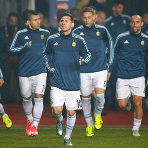 Aguero Yakin Messi Akan Segera Sumbang Gol untuk Argentina