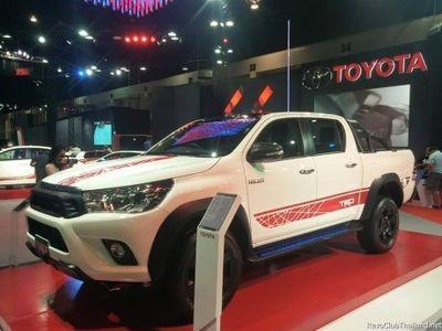 Keren, Pikap Toyota Hilux Versi TRD Sportivo