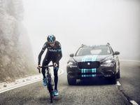 Menjelang Diluncurkan, SUV Jaguar Nampang di Ajang Balap Tour de France
