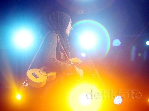 Delapan Finalis Hijab Hunt 2015 Unjuk Bakat Saat Gladi Resik