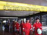 Terminal 2E Bandara Cengkareng Dipasangi Garis Polisi
