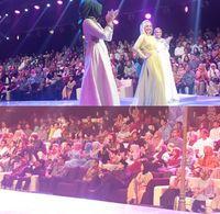 Foto : Ramainya Penonton Saat Berikan Dukungan Bagi Finalis Sunsilk Hijab Hunt