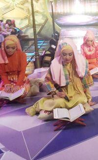 Menunggu Keputusan Juri 3D, 8 Finalis Sunsilk Hijab Hunt Kompak Lafalkan Ayat Al-Quran