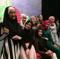 Foto: Intip Latihan Terakhir Finalis Sunsilk Hijab Hunt 2015