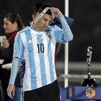 Keluarga Messi Diserang Fans Chile Saat Nonton Final Copa America