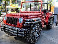 Jeep Wrangler Ini Terbuat dari Kaleng Makanan