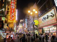 Dotonbori Street, Tempat Belanja & Makan Enak di Osaka