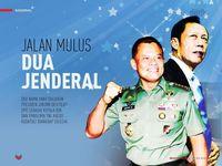Jalan Mulus Dua Jenderal