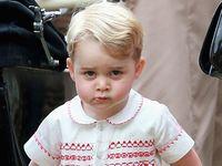 Pangeran George Curi Perhatian di Hari Pembaptisan Putri Charlotte