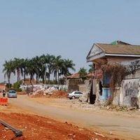 Ada Rumah di Tengah Jalur Proyek Tol Depok-Antasari, Ini Buktinya