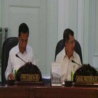 Kumpulkan Menteri, Jokowi Gelar Rapat APBN 2016 dan Persiapan Lebaran