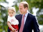 Pangeran George Super Cute di Hari Pembaptisan Putri Charlotte