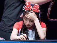 Dimarahi Fans karena Suara Jelek, Mina AOA Menangis