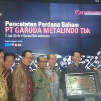 Saham Perdana Garuda Metalindo Naik 32%