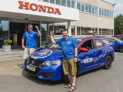 Honda Civic Diesel Pecahkan Rekor Keiritan Konsumsi BBM