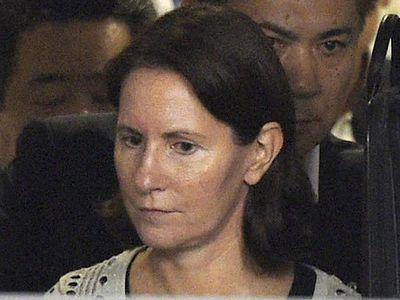 Ini Foto Julie Hamp, Bos Wanita Toyota Saat Dibebaskan Polisi Jepang