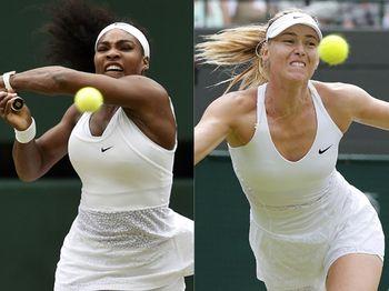 Serena Tantang Sharapova di Semifinal Wimbledon