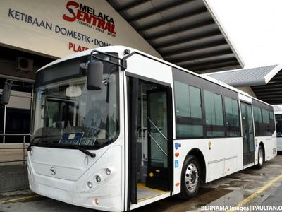 Bulan Depan, Malaysia Punya Bus Listrik Pertama
