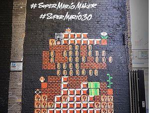Move Over, Banksy! Mural Trendi Rayakan 30 Tahun Mario Bros