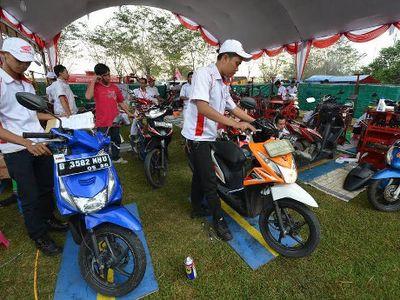 Rangkaian Kegiatan Lebaran Bagi Pemilik Motor Honda di Surabaya