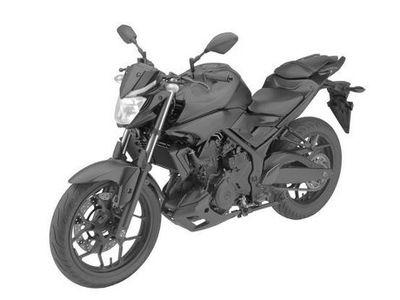 Penampakan Yamaha MT-03 Mulai Terlihat