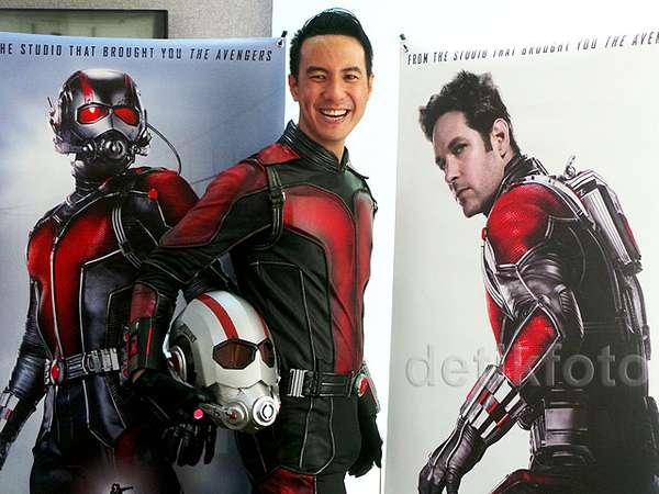 Begini Penampilan Daniel Mananta Jadi Ant-Man