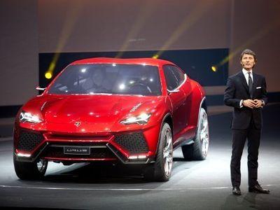 SUV Lamborghini Bakalan Mirip Konsep Urus