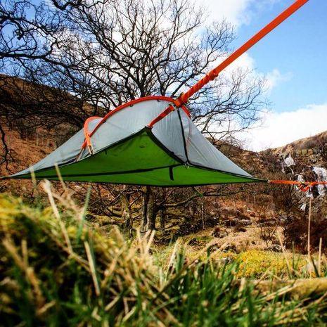 Tenda melayang, goodbye tenda tanah...