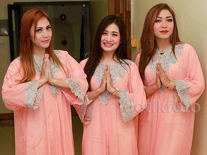Gaya Trio Macan Berkaftan di Bulan Ramadan