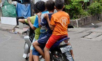 Anak Suka Diolok Temannya Kalau Belum Bisa Naik Motor