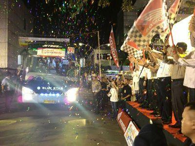 Honda Berangkatkan 2.260 Pemudik ke Yogya dan Semarang