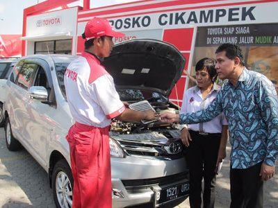 Toyota Siapkan 269 Titik Pelayanan Mudik
