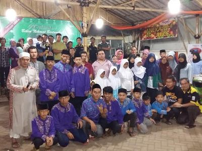 Komunitas Proton Sahur on The Road di Yayasan Bina Umat