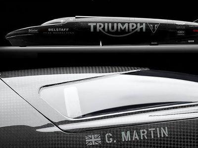 Triumph Ingin Pecahkan Rekor Motor Tercepat, Lebih dari 605 Km/Jam