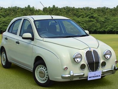 Wow, Nissan March Ini Berganti Wajah Jaguar Mark 2