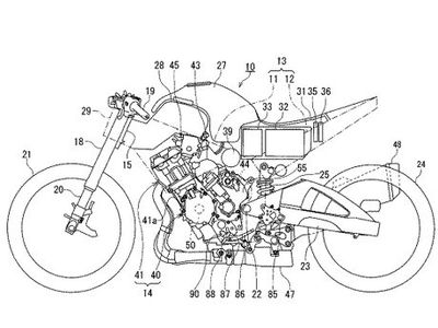 Desain Motor Hybrid Suzuki Terungkap