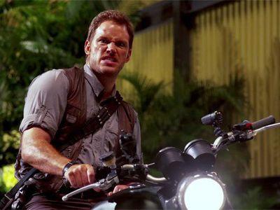 Triumph Scrambler di Film Jurassic World Dilelang