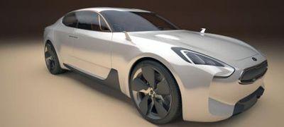 Model Coupe Kia GT Terbaru Siap Melenggang ke Pasar