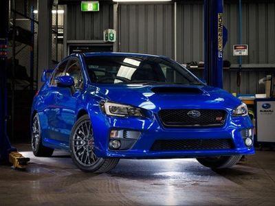 Subaru WRX STI Versi Balap Mulai Diperkenalkan