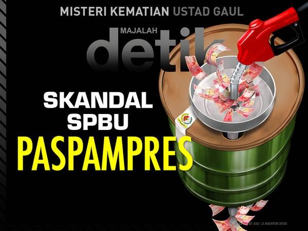 Skandal SPBU Paspampres
